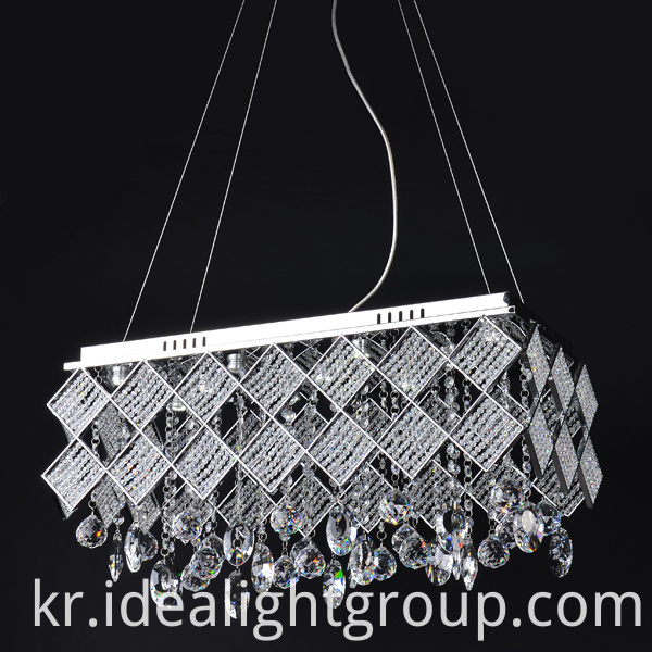 crystal pendant light chandelier