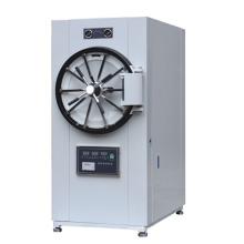 Stérilisateur à vapeur cylindrique à pression horizontale à commande par micro-ordinateur