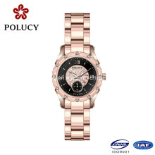 New Fashion 316L Stainless Steel 3ATM Water Resistant Jewelry Wrist Watch
