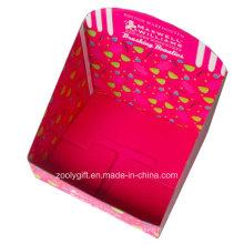 Boîtiers d'affichage à carton ondulé pliable à impression personnalisée