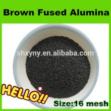 Poudre fine d'alumine fondue brun de première qualité pour le sablage