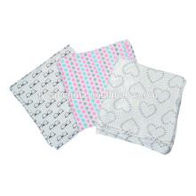 милый стиль бамбук Baby пеленальное одеяло Муслин пеленать обертывания