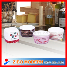 Porcelaine Ware Ramekin Bowl avec impression