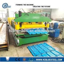 Fabricante de la fabricación de la azotea Máquina que forma el rodillo galvanizado del azulejo del cinc que forma la máquina