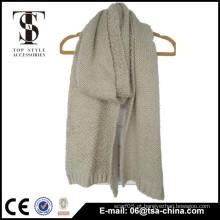 Lenço da senhora do inverno do lenço da malha do jacquard 2015 da forma