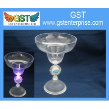Flashing LED Wide Mouth Martini Cup