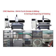 Máquina CNC de grabado de vidrio de alta calidad