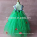 2017 green color summer girl dress Aliexpress ,Ebay,Amazon hot selling wholesale tutu ballet dress
