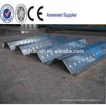 Plancher métallique Deck profileuse en Chine