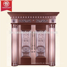 Fabrik Custom Luxus Villa Bronze Tür, Doppel Swing Kupfer Tür