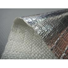 FW600AL Aluminum Laminated Fiberglass Fabrics