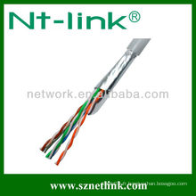 23AWG 8 paires ftp Lan cable cat5e