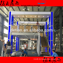 Shanghai Factory Double Deck Messestand