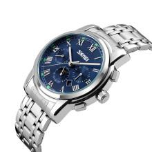3atm water resistant quartz watch moon phase business details steel quartz watches