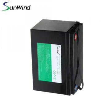 Batterie au lithium Lifepo4 à énergie solaire 12.8V 100Ah