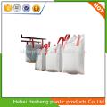 hot sales 100% virgin PP Big Bulk Jumbo Bags with cross corner loop