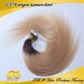 2015 Venda Quente Por Atacado de Alta Qualidade 100% Remy Virgem Russa Cabelo Ombre Cor Fita Russa cabelo