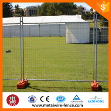Tipo australiano removível galvanizado Temporary Fence ISO9001