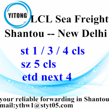 Shantou Global Logistics Services naar New Delhi