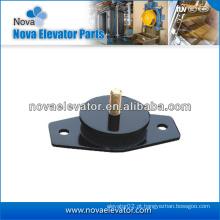 Almofada de elevação do elevador para a máquina de tração do elevador, absorvente de borracha do elevador, elevador Borracha Absorber