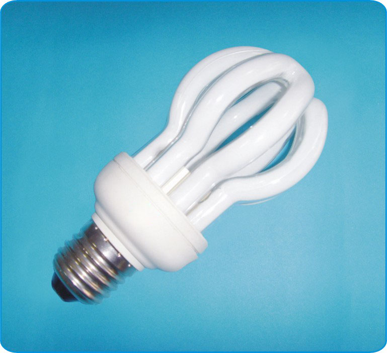 4U Lotus Energy saving lamp cfl economic light bulb