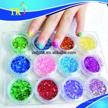 poudre de scintillement pour la sérigraphie / peinture / vernis à ongles / fard à paupières