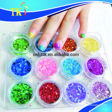 glitter powder for screen printing/paint/nail polish/eyeshadow