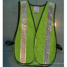 Polyester Safety Vest with Reflective Tape