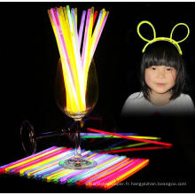 batterie fonctionnant au néon star concert vocal party glow sticks couronne