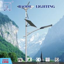 Luz de rua solar da turbina de vento da lâmpada do diodo emissor de luz de 7m Pólo 60W (BDTYN760-w)