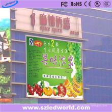 L'intense luminosité 7000CD / M2 P8 extérieur polychrome publicité de mur de LED