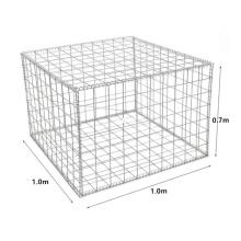 New Mexico 1.0x0.7x0.7m Electric Galvanzied Welded Basket Customized Gabion Rond