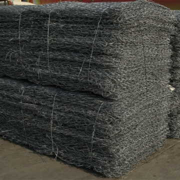 PVC bersalut Hexagonal Twist Gabion Walls