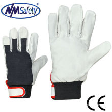 NMSAFETY свинья зерно кожа рабочие перчатки