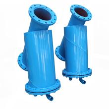 Y Type de filtre à brosse Equipement de traitement de l'eau avec entraînement manuel