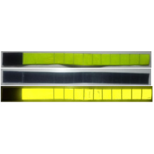 Yellow 3M PVC tape reflective armband