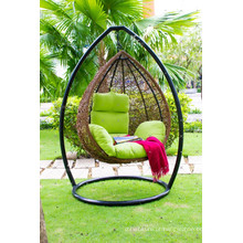 Mais vendidos Design Polietileno Rattan Hammock - Egg Swing Chair para ambientes Indoor e Outdoor Wicker