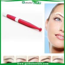 2015 getbetterlife aluminio desechables tatuaje ceja Manual pluma permanente maquillaje permanente pluma y bordado manual pluma