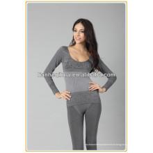 Sous-vêtements thermiques intégrés sans soudure à main longue, grossistes longues longues johns pour l'hiver