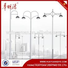Poteaux de lampe de jardin en acier au carbone