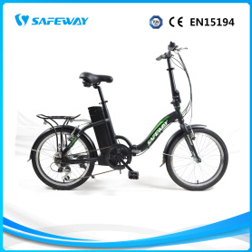 Lithium battery electric folding bike with CE certification