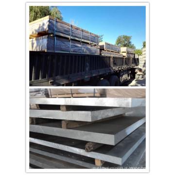 Liga de alumínio da folha 6063 CC CCT4 T6 T651