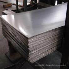 Plateau en acier résistant à l'abrasion Domex 400 / usure Ar500 Nm450