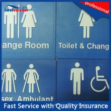 47 Typen Australische Standard Braille Schilder für WC / Waschraum / Toilette