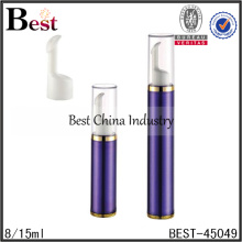 8ml airless pump acrylic bottle,8ml lotion cosmetic airless pump bottle for skin care