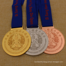 DIY Metal South Korea Pan American Tang Soo Do Medal