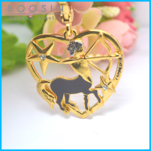 12 Constellations Gold Plated Sagittarius Pendant Wholesale