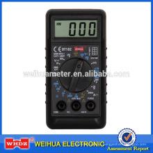 небольшой цифровой мультиметр DT182 CE с Batterytest
