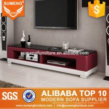 модный дизайн мебели кожаный подставка для телевизора сделано в Китае