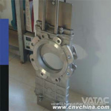 Lug Ends Wcb/CF8/CF8m Through Conduit Knife Gate Valve
